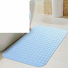 Anti-rutsch Badvorleger/Saugnapf Dusche Matte/Badezimmer-matten/Geschmacklos Badematte-A 47x77cm(19x30inch)