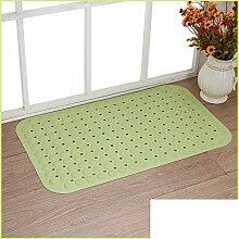 Anti-rutsch Badvorleger/Toilette WC Wasserdichte Pad/Dusche Matten/Massage Fußauflage/PVC Von Mats-J 59x88cm(23x35inch)