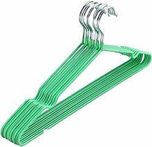 Anti-Rutsch Kunststoff Kleiderbügel Groove Kunststoff Trockengestelle nasser Kleidung aufgehängt-D