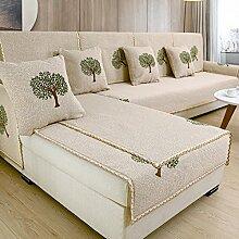 Anti-rutsch-sofa-handtuch, Universal vier jahreszeiten All-inclusive sofabezug Sofa protector, Widerstandsfähig gegen verschleiß Seat dämpfung Rückenlehne-B 90x70cm(35x28inch)