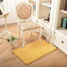 Anti-Rutsch-Teppich/ Haushalt Tür Decke/Schlafzimmer Nachttisch Teppiche/Gepolsterte Mikrofaser Chenille Teppich/ Erker-C 160x230cm(63x91inch)