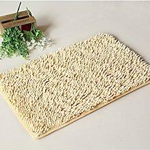 Anti-Rutsch-Wasserdicht Der neue Platz Teppich Wasser Absorption Badezimmer Teppich Fußmatte Badezimmer Badezimmer Küche Schlafzimmer Teppich ( Farbe : A , größe : 20*40cm )