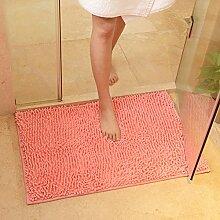 Anti-schleudern Badvorleger/Matt Caterpillar/Küche Wohnzimmerteppich/Tür-anti-rutsch-matten-E 30x50cm(12x20inch)