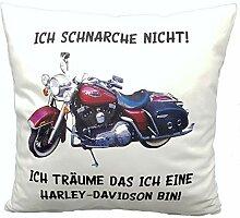 Anti-Schnarch Kissen alte Harley Oldtimer lustiger