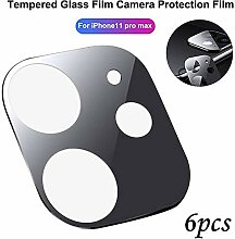 Anti-Scratch Glas Kameraobjektiv,6Pcs Housse De
