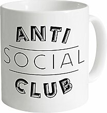 Anti Social Club Becher, Weiß