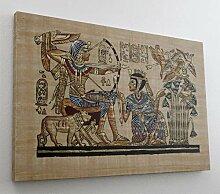 Antik Ägypten Papyrus Leinwand Canvas Bild