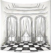 Antik Decor Kollektion Skizze eines Classic Parlor