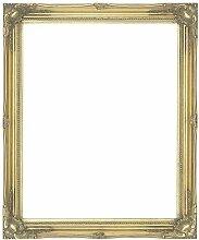 Antik Gold Shabby Chic rechteckiger Wandspiegel