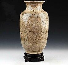Antik Keramikplatten Chinesische vase Mit basis