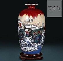 Antik Keramikvase Chinesische vase Porzellan
