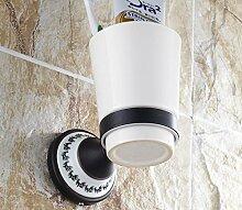 Antik Kupfer Dual Getränkehalter Voll/Becher/Einzel Cup/Keramiktasse Doppelbecherhalter/Bad-Accessoires-1