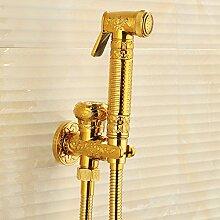 Antik Kupfer Toilette Spray Wasserhahn und