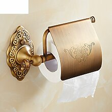 Antik Kupfer Wand Papier Handtuchhalter/Toilettenpapier-Regal/WC-Papierhalter/Toilettenpapier Rollen Toilettenpapier Box