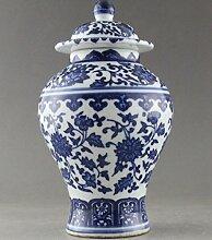 Antik: Sehr gute, handbemalte Porzellan-Vase mit
