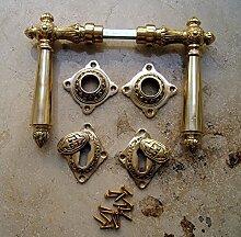 Antik Tür Griff Graf von Gerlitzen BB Rosetten