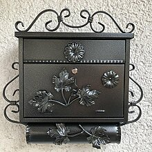 Antik Wandbriefkasten Briefkasten Zaunbriefkasten