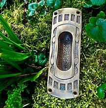 Antikas - Antik Tür Beschläge Schiebetüren, Griffmulde, Einlassmulde Griffmuschel Art Deco