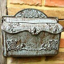 Antikas | Briefkasten aus Eisen | wirkt wie