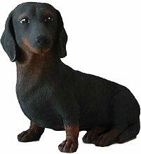 Antikas - Dekoration Tierfigur Hund Teckel Figuren
