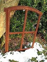 Antikas - Fenster Oskar 50x34cm, Sprossenfenster für Gartenhaus, Eisenfenster Stallfenster