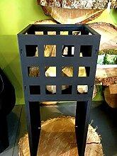 Antikas - Feuerkorb in modernem Design, Eisenkorb