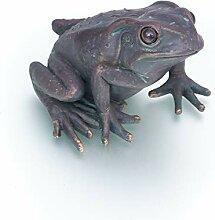 Antikas - Frosch Brunnendekoration - Skulptur für