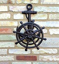 Antikas - Gartenschlauch Halter mit Anker, Nordsee