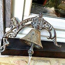 Antikas - Landhausstil- Wand-Glocke, Tür-Glocke