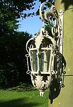 Antikas - Nostalgie Lampe - antike Laternen, Aussenlampe Lombardei Windlicht Aussenleuchte