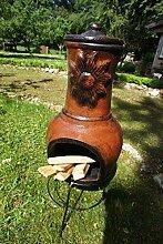 Antikas - Terrassenofen, Ton, Ofen für die