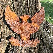 Antikas - Türdekoration Adler Gartenmauer