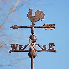 Antikas - Wetterhahn, Wetterfahne, Gusseisen mit