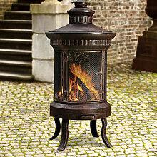 Antikdesign: Klassische Atrium- Feuerstelle -