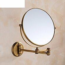 Antike Bad Kosmetik Spiegel/Faltung Kosmetikspiegel/Desktop-Spiegel/Doppel-Zoom-Objektiv-A