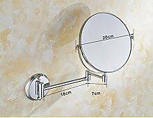 antike Bad Kosmetikspiegel/Wandspiegel/Falten Teleskop Spiegel/Bad doppelseitige Kosmetikspiegel/Lupe-B