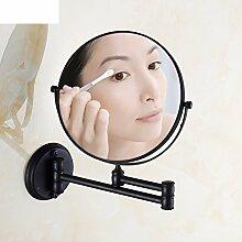 Antike Badezimmer Badezimmerspiegel/der Spiegel/Teleskop Spiegel/Wand-klappbare Spiegel