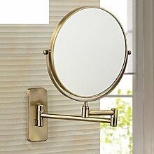 Antike Badezimmerwand rotierenden Spiegel/klappbare Spiegel/Toilette Teleskop Spiegel/Two-sided vergrößerten Spiegel