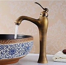 Antike Bronze Einhand-Waschbecken Waschbecken