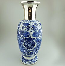 Antike Chinesische Porzellan Vase, 1680er