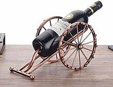 Antike Eisen-Kunst-Kanone Modell