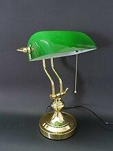 Antike Fundgrube Bankerlampe Schreibtischlampe