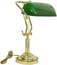 Antike Fundgrube Traditionelle Bankerlampe aus