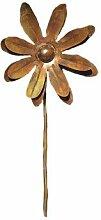 Antike Graffiti ag-87123Medium Zinnia Spinner Blume dem Spiel–Mehrfarbig