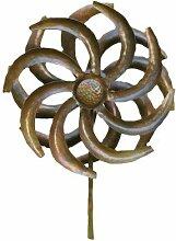 Antike Graffiti ag-87142Spieler setzen Camellia Kinetic Spinner–Mehrfarbig