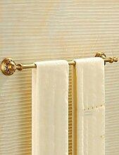 Antike Handtuch Bar Voll Copper europäischen Bad Handtuch Rack Handtuch Rack Bad Hardware Anhänger ( Farbe : 1 )