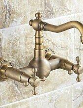 Antike inspirierten K¨¹che Wasserhahn - Wandhalterung (antike Messing