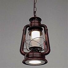 Antike Kerosinlampe der Wandlampe, Laterne,