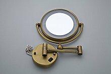 Antike Kosmetikspiegel Doppelseitig Erweiterung An Der Wand Falten Ausziehbaren Spiegel Kosmetikspiegel Led