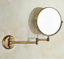Antike Kupfer Spiegel Wandspiegel klappbare